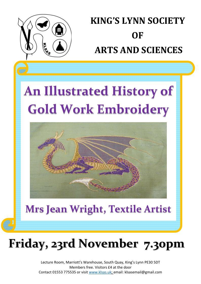 Lecture Friday 23rd November